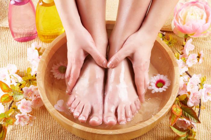 Успокаивающая ванночка для ног