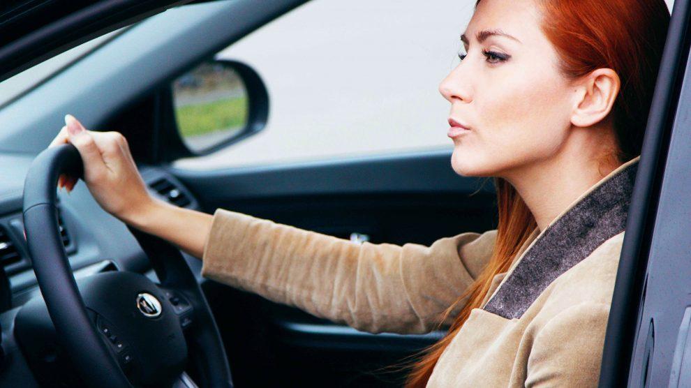 Поездка на машине в роли водителя