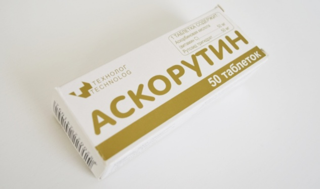 Аскорутин применение