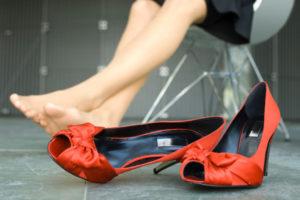 Избегайте долгого стояния на ногах