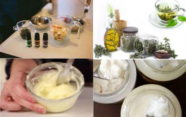 Крем на основе полезных масел