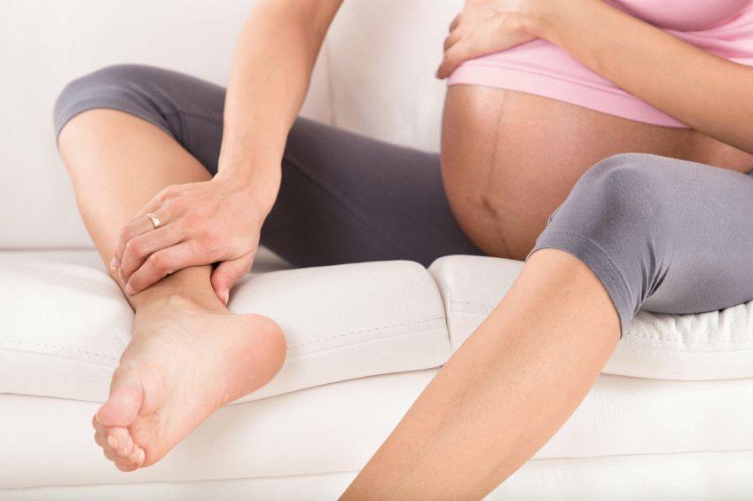 Лимфодренажный массаж при варикозе у беременных