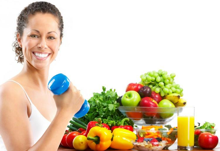 Правильное питание и умеренные физические нагрузки
