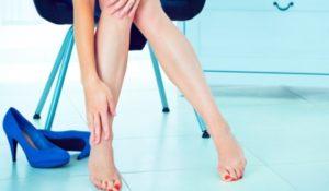 При варикозе нужно щадяще относиться к ногам