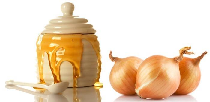 Рецепт с медом и луком