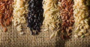Темные и коричневые сорта риса