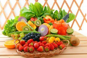 Ягоды, овощи и фрукты