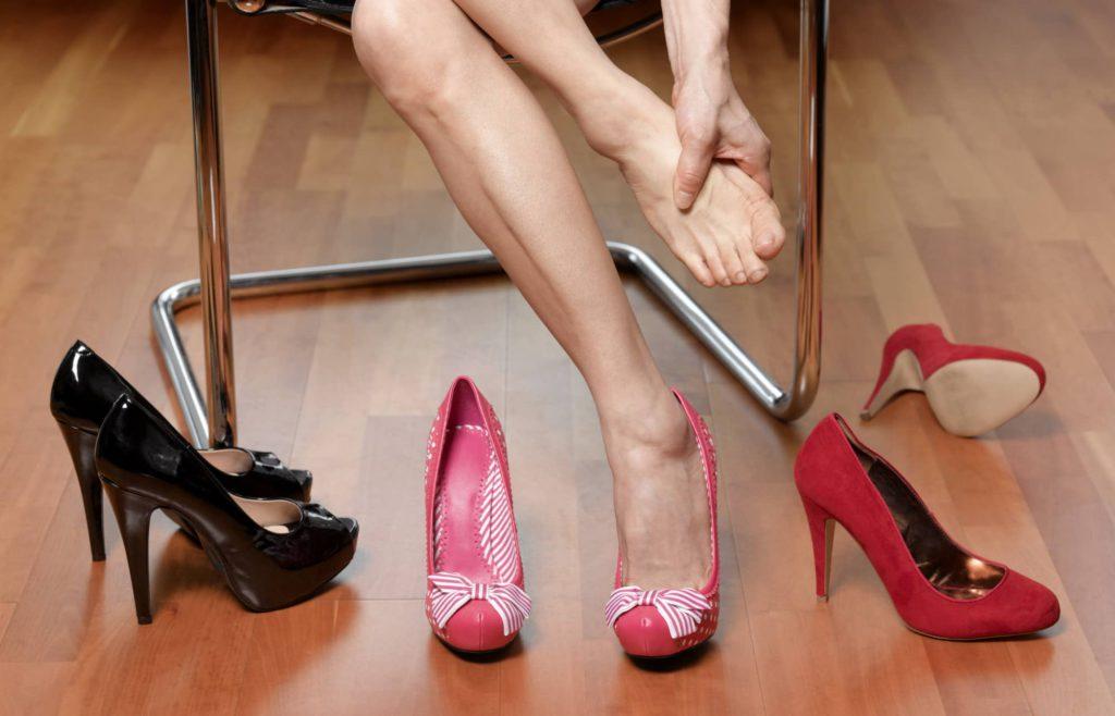 Тесная или просто неудобная обувь
