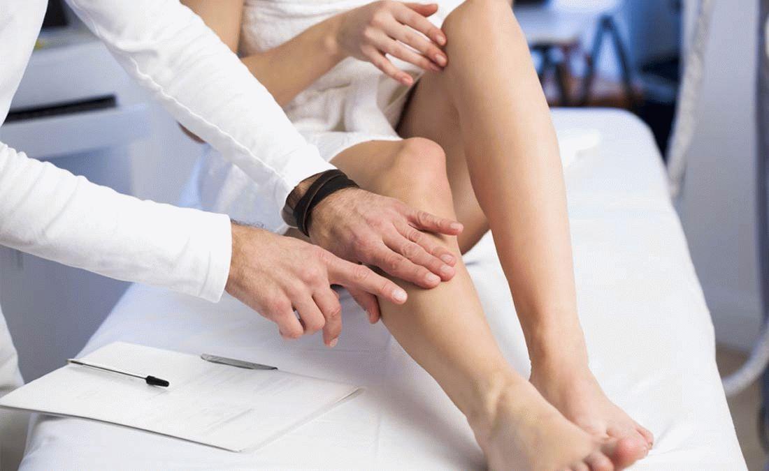 Больному необходима консультация флеболога