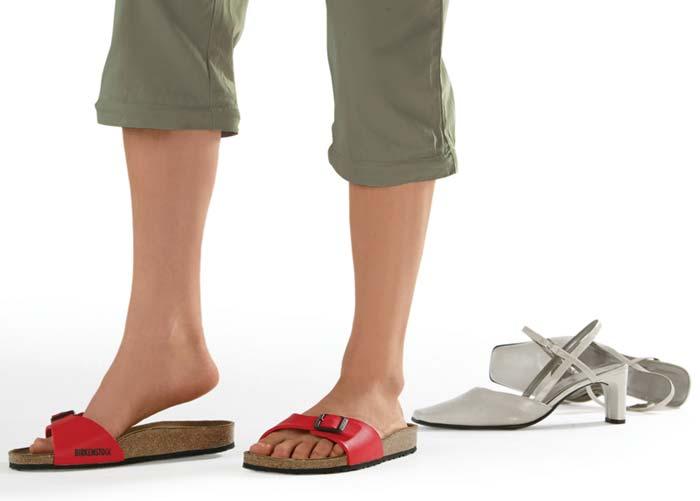 Носить обувь без каблука