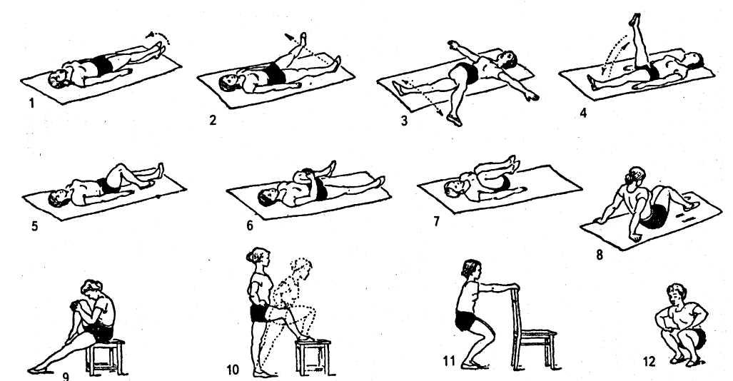 Комплекс для укрепления тазобедренной части тела