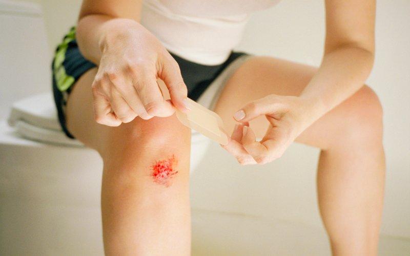 Не обрабатывать открытые раны