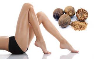 мускатный орех может избавить от варикоза