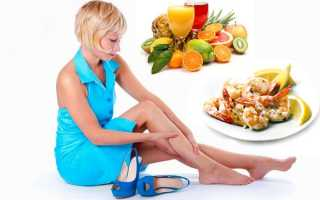 Лечебная и профилактическая диета при варикозе
