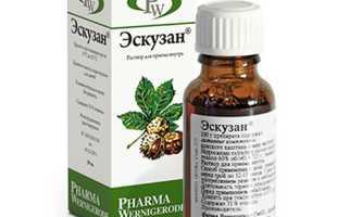 Растительный препарат Эскузан для лечения дискомфорта в ногах