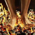 Чувство жара и жжения в ногах