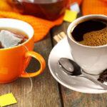 Крепко заваренный чай и кофе