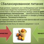 Правильно и сбалансированно питаться