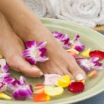 Расслабляющие процедуры для ног