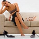 Тяжесть и усталость в ногах